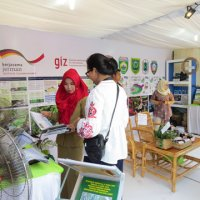 Expo at Bonn Challenge conference in Palembang 2017