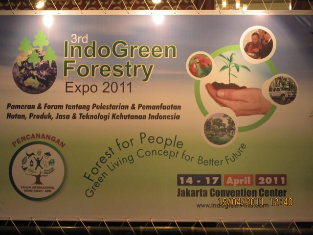Indogreen Forestry expo April 2011 - 6