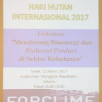 Talkshow & expo at the International Day of Forest 2017