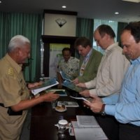 BMZ Delegation visited East Kalimantan