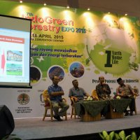 Talkshow on bionergy at Forestry expo 2015